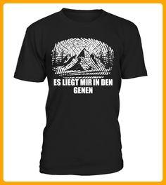 Berge es liegt mir in den Genen TShirt - Shirts für zelter (*Partner-Link)