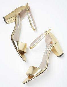 Boden Isabella Heel in Gold, $44.40