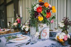 Macrame plate setting. Bohemian macrame wedding inspiration. Let's Frolic Together photography. Venue: The Slate Barn & Gardens Vista, California