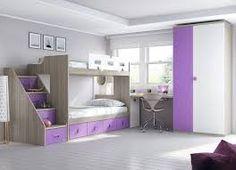 Resultado de imagen para dormitorios con literas juveniles