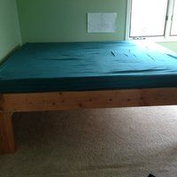 2 X 8 Bed: 5 Steps (with Pictures) Making A Bed Frame, Diy Bed Frame, Diy Platform Bed Plans, How To Make Bed, Storage, Pictures, Furniture, Home Decor, Beds