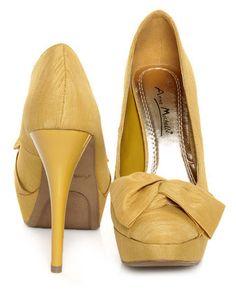 IN LOVE! Anne Michelle, Dynamite - mustard thai silk