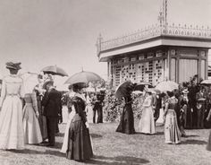 1898 Melbourne Cup at Flemington. Photo: Fairfax Photos