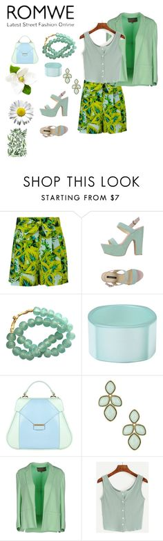 """""""#romwe"""" by andrea-jones-4 ❤ liked on Polyvore featuring Roberto Cavalli, Patrizia Pepe, First People First, Aevha London, Natasha Accessories and Space Style Concept"""