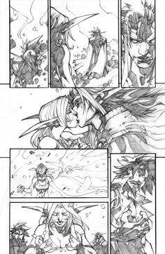 WoW Curse of the Worgen 5 pg23 by LudoLullabi.deviantart.com on @deviantART