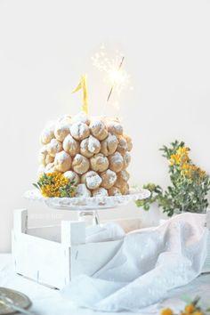 Merceditas Bakery: Choux cake - Mini tarta de profiteroles