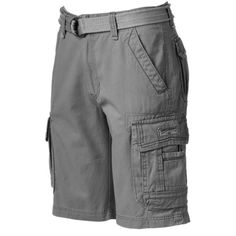 Denim Supply Ralph Lauren Polo Black Cotton Jersey Cargo Shorts ...
