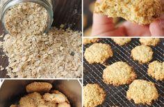 Ingredientes galletas avena
