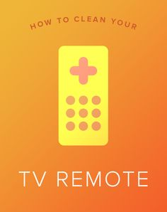 Save time and money and clean the TV remote using items already stocked in your home.