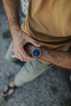 YOUR favorite ZIZZOwatch JORIN available online www.zizzowatches.com #myzizzowatch #swissmade #blue #newstyle #silverwatch