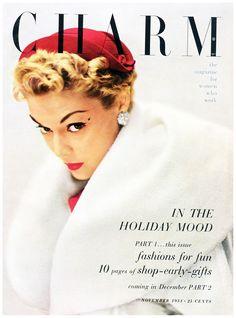 Обложка журнала Charm 1950-х годов.