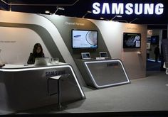 Exhibition Stand at AfricaCom for Samsung by XZIBIT 1
