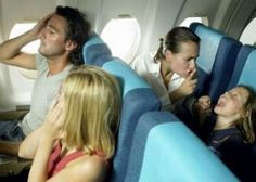 In-Flight Entertainment You Don't Want - Noisy Kids And Loud Passengers
