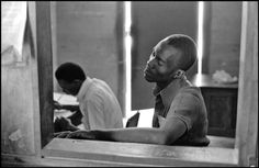 "antanlontan: ""Alex Webb, Haiti, Gonaives, Post office, 1975 """