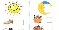 Rutina de dimineata si de seara Teacher Cartoon, Pre School, Preschool Activities, Kids Rugs, Symbols, Letters, Education, Learning, Routine
