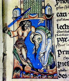 https://flic.kr/p/bVWB7M | Martyrdom of St.Paul. English 12th cent. detail. Bodl_Auct.D.