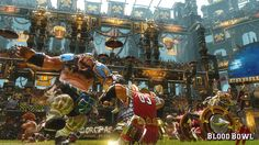 Blood Bowl the Warhammer and American Football crossover came out earlier this week PlayStation 4 and XBox One. Blood Bowl, Tabletop, Pen And Paper Games, Ps4 Or Xbox One, Game Pass, Weird Gif, Game Workshop, Love Games, Warhammer Fantasy