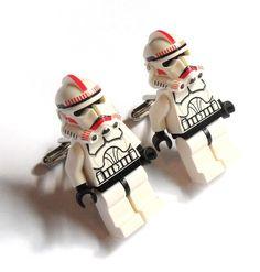 Storm Trooper Cuff Links so cool!