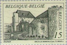 Sello: Raeren (Bélgica) Mi:BE 2568,Sn:BE 1498,Yt:BE 2516,Bel:BE 2516