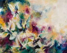 'Virtue' by Katy Jade Dobson / oil painting / The 21 Grams Collection