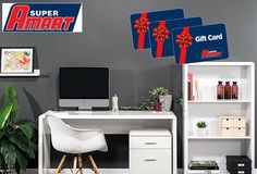Nobody beats Amart Furniture for range and unbeatable value across office furniture packages. Office Organisation, Home Office Storage, Home Office Space, Office Desk, Office Package, First Home Buyer, Furniture Packages, Study Space, Celebrity Houses