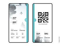 Boarding Pass Design by Charles Postiaux on Dribbble Web Design, Layout Design, Graphic Design, Mobile App Design, Saint Charles, Show And Tell, Grand Opening, User Interface, Boarding Pass