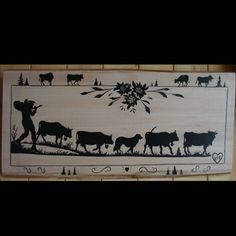 poya , savoie , savoyard , peinture , création sur bois , création sur fer Paper Cutting, Scroll Saw, Kirigami, Decoupage, Moose Art, Illustration Art, Stamp, Painting, Silhouettes