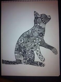 Sharpie cat.