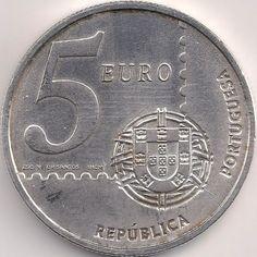 Wertseite: Münze-Europa-Südeuropa-Portugal-Euro-5.00-2003-Primeiro Selo