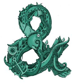 Octopus Ampersand by Toby Triumph, via Behance