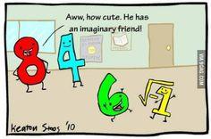 Imaginary friends are so complex