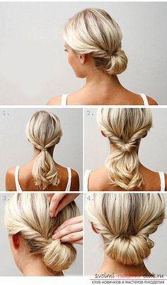 Учимся делать красивые прически на средние волосы своими руками. Фото №5