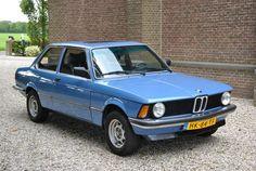 BMW 318 e21 biscaya bleu - 1980