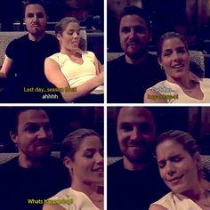 Stephen & Emily: Last Day Season Four #Arrow - Snapchat
