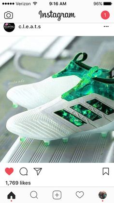 Oh my god those football boots Green cleats