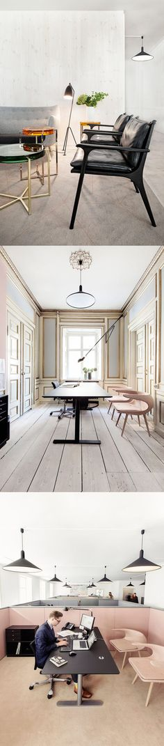 Danish Fashion and Textile Association Office http://thecoolhunter.net/danish-fashion-and-textile-association-office/