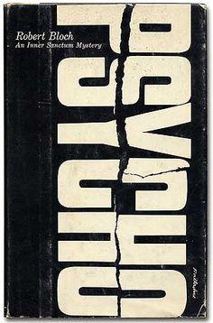 Psycho. 1959.  #book #design #vintage