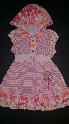 38c4aa1c8 Naartjie dress 18-24 months Moonrise Floral hooded #naartjie #hoodeddress