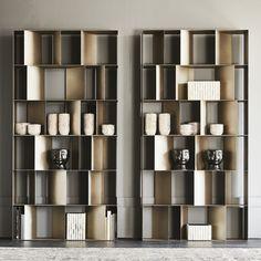 Shelving Design, Bookshelf Design, Shelving Systems, Wall Panel Design, Partition Design, Home Decor Hooks, Entryway Decor, Nautilus, Library Bookshelves