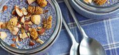 In unserer Rezeptstrecke finden Sie leckere Rezepte mit Chia-Samen – vom Chia-Kokos-Pudding über Brot mit Chia-Samen bis hin zu Energieriegeln mit Chia.