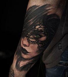 тату у стилі реалізм, black and grey Portrait, Tattoos, Tatuajes, Headshot Photography, Tattoo, Portrait Paintings, Drawings, Portraits, Tattos