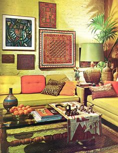 Living room. Practical Encyclopedia of Good  Decorating and Home Improvement, Vol 1, Greystone Press, New York, 1970