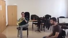 French horn and chair duet is a hot contender for song of the summer