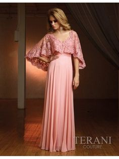 Vintage Inspired Titanic Style Dresses for Sale  - Lace Cape Over A Fitted Gown $790.00  #titanic #edwardian