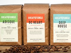 Great Circle Coffee on Packaging of the World - Creative Package Design Gallery