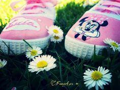 Fanart.es zapatillas pintadas a mano / Lucia & Minnie