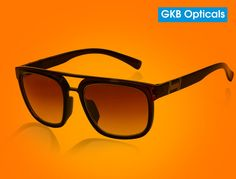 The new range of affordable sunglasses from GKB Opticals is available online below Rs 299. The GKB JL1249-1 presents square shell sunglasses online in India below rs 299. Grab branded eyewear at affordable rates.