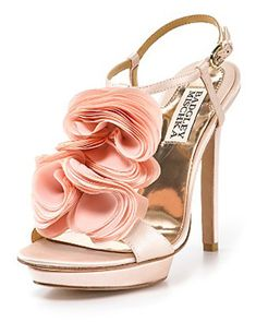Ruffle Flower Sandles  Sexy Summer Night Out