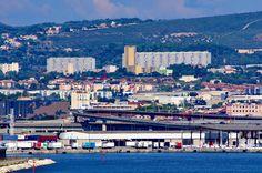 https://flic.kr/p/vNFShg | Marseille 2014 - 192 au-dessus du Port de La Joliette