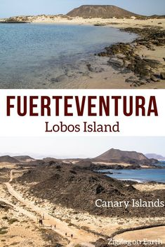 Canary Islands Travel – guide to visiting Lobos island, a small volcanic island just North of Fuerteventura – volcanic landscape, beach and lagoon – a great variety of landscapes to enjoy on a day trip Canary Islands Things to do Canary Islands Fuerte Beautiful Places In The World, Beautiful Beaches, Tenerife, Canary Islands Fuerteventura, Beach Bucket, Beach Hacks, Landscaping Near Me, Voyage Europe, Photos Voyages